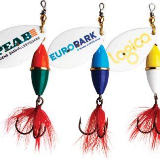 Fiskeprodukter med tryck
